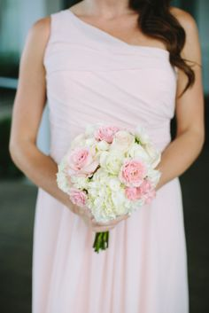 Hydrangea and Rose Bouquet | photography by http://julia-wade.com/site/