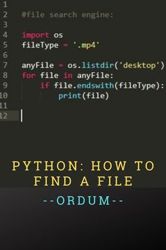Python: Example of searching files . - Python: Example of searching files - Python Programming Books, Computer Programming Languages, Programming Tutorial, Learn Programming, Computer Technology, Computer Science, Technology Hacks, Teaching Technology, Teach Yourself Code