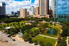 From the best rated museum for kids to a space center, Houston promises a trip full of adventure and fun! Come check out the best things to do in Houston. Houston, Discovery Green, Minute Maid Park, Green Park, Texas Travel, Road Trip Usa, Travel Deals, Vacation Spots, Things To Do