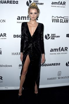 Pin for Later: Seht alle Stars bei der amfAR Gala in Los Angeles Lily Donaldson