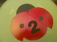 easy paper crafts for kids: ladybug counting - crafts ideas - crafts for kids