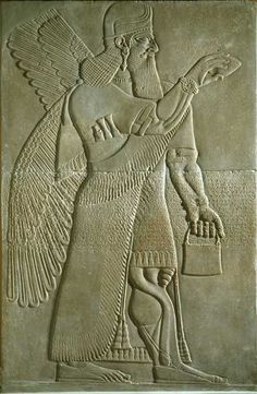 The Assyrian relief sculptures are some of the most extraordinary pieces in ...    bowdoin.edu
