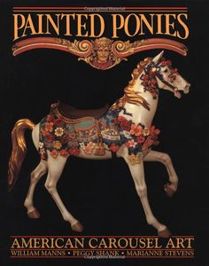 my great grandfather, daniel c. muller, carved the most beautiful carousel horses.  his work is detailed in this book.