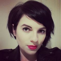 Short Cropped Hairstyles For Fine Hair : Hairstyles For Short Cropped Hair Cut My Hair, Love Hair, Great Hair, Audrey Tautou, Short Cropped Hair, Short Hair Cuts, Short Wavy, Growing Out Short Hair Styles, Long Hair Styles