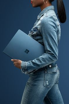 It's a portable power move. Introducing the new Surface Laptop 2 in Cobalt. New Surface, Surface Laptop, G Tech, Free Iphone Giveaway, Laptop Design, Good Advertisements, Small Business Plan, All In One Pc, Asus Laptop
