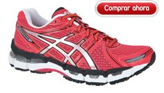 Asics Gel Kayano 19 rojo Woman 4708bffcb