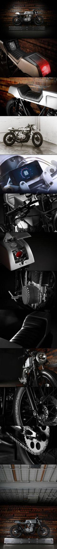 """DAILY INSPIRATION: Honda """"DCB750"""" by Toby Grubb and Justin Lewis – Moto Mucci"""