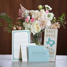 Southern Weddings Magazine - love the invites and Save the Dates (but with Virginia)