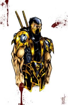 Mortal Kombat: Scorpion by Samuel Johnson