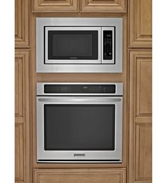 Microwave with trim kit and built-in oven. This is how ours will look.