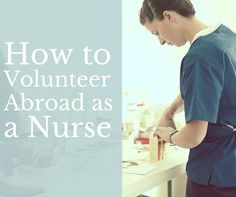 Thousands of Healthcare volunteers join IVHQ every year! Discover how to volunteer abroad as a nurse...