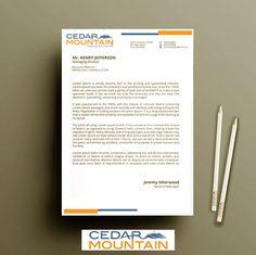 Letter Head Design Competition #CedarMountain