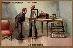 This pin shows and explains the history of how specific machines and medicines came along. | Repinned by @emilyslutsky
