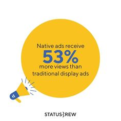 Native ads are visually more engaging than traditional banner ads. Majority of respondents said that they would prefer to share native ads with their family and friends instead of display ads. Thus, businesses need to focus more on marketing through native ads. | Advertising | SocialMediaAds Display Ads, To Focus, Nativity, Advertising, Banner, Social Media, Marketing, Traditional, Sayings