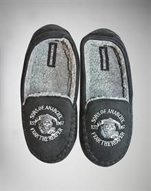 Sons of Anarchy Moccasin Slippers - Adult Unisex