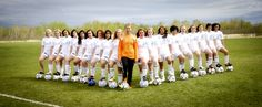 We should do this for our soccer team picture- it looks very intimidating! I like it!