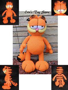 Amigurumi Free Patterns Garfield : OMG.....ITS GARFIELD!!! Amigurumi and toy patterns ...