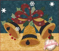 NEW Block of the Month: Blessings of Christmas Night! See the rest of the quilt here: http://www.shabbyfabrics.com/-Blessings-of-Christmas-Night-BOM-Block-of-the-Month-P22877.aspx