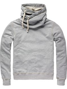 Twisted hooded sweater - Home Alone - Scotch & Soda Online Shop