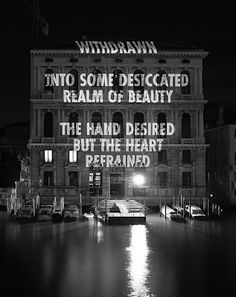 The Hand Desired by Jenny Holzer