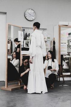 Chanel Couture Atelier Petites Mains Details | British Vogue