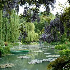 Giverny, France - Monet's Garden.. So beautiful