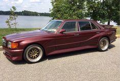 1987 Mercedes Benz 560SEL Koenig Widebody