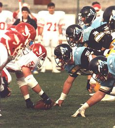 "https://flic.kr/p/uJJu3 | Edgardo ""Eddie"" Donovan - Pesaro Angels American Football 1989 