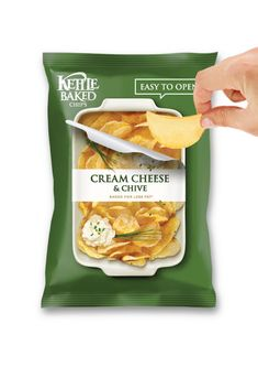 kettle baked chips - The conceptual Kettle Baked Chips snack packaging has been designed by Junpyo Kim as a different kind of design for a common snack food to encourag. Chip Packaging, Packaging Snack, Smart Packaging, Innovative Packaging, Pouch Packaging, Food Packaging Design, Coffee Packaging, Bottle Packaging, Sandwich Packaging