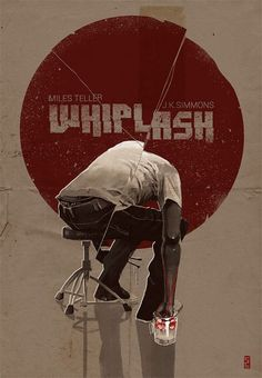 I really loved this piece because it chose the best part of film, cinematography wise. When he puts his bloody hand in the cup of ice and it turns red. Best Movie Posters, Minimal Movie Posters, Minimal Poster, Cinema Posters, Movie Poster Art, Cool Posters, Damien Chazelle, Alternative Movie Posters, Creative Posters