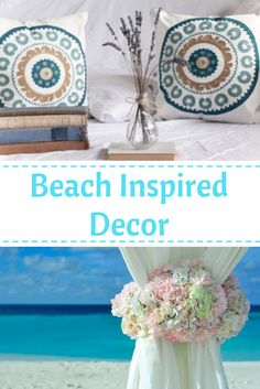 I love beach themed home decor #beachdecor #deachinspireddecor