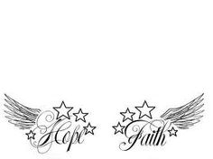 An idea for my next small tattoo..One on each foot, maybe replace the stars with hearts though :)