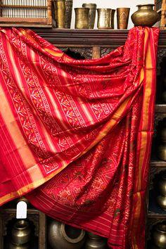 #Patola sari . Great way to display