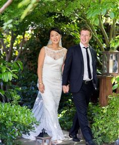 Mark Zuckerberg's Wife Pricilla Chan Wedding Dress Info! (PHOTOS) | Global Grind