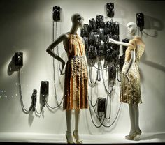 I used a grouping of old military phones in my window display once!!!!!!  it's for you, pinned by Ton van der Veer