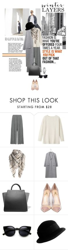 """""""Plain and simple"""" by no-where-girl ❤ liked on Polyvore featuring 1205, Toast, Boutique, ZAC Zac Posen, Semilla, Yves Saint Laurent, Calvin Klein, women's clothing, women's fashion and women"""