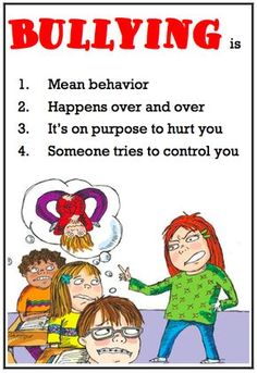 Ms. Sepp's Counselor Corner: Bully B.E.A.N.S.