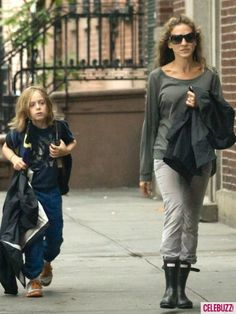 Sarah Jessica Parker with son