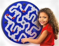 Dizzy Disks Wall ActivityToy
