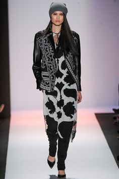 BCBG Max Azria Fall 2013 RTW - Review - Fashion Week - Runway, Fashion Shows and Collections - Vogue -- CAN I HAVE THAT JACKET?!