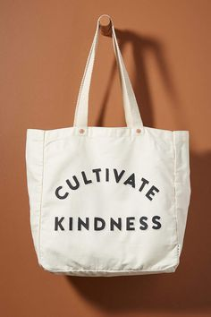 FEED Conversational Tote Bag by in White Size: All, Bags at Anthropologie Lauren Bush, Branded Tote Bags, Diy Purse, Children In Need, Purses And Handbags, Cool Designs, Reusable Tote Bags, Anthropologie, Things To Sell