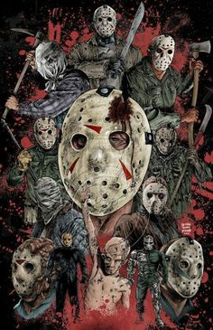 Horror Art~ Friday the 13th