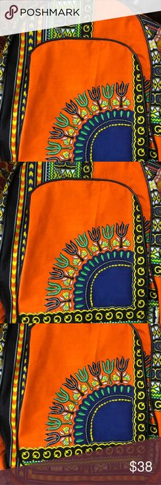 African Traditional Print Backpack This African Print Backpack is large enough to carry everything you need right on your back! Bags Backpacks