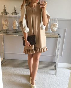 #lniana sukienka Mint Label #outfit #look #style #fashionstyle #mode #shopping #instagram #instadaily #fashion #dress #instamood #girl