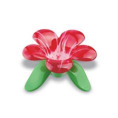 Flower Tea Strainer by Koziol Audrey Murano Loose Tea Infuser, Tea Warmer, Tea Strainer, Kartell, Mothers Day Presents, Flower Tea, Red Candy, Tea Accessories, Cookies