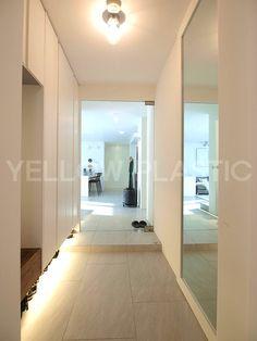 릴리의 팹디 :: 드레싱 룸이 있는 미니멀 스타일 43평 화이트 아파트 인테리어 in 이촌동