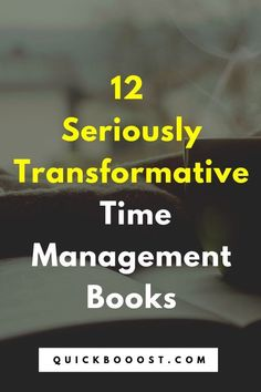 12 Seriously Transformative Time Management Books Harness your time like never before with the help of these transformative time management books! Use this list to find the right time management book for you. Time Management Activities, Time Management Printable, Time Management Quotes, Management Books, Time Management Skills, Personal Development Books, Development Quotes, Self Development, High School Activities