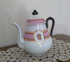 Vintage teiera - Elegante teira - Contenitore per thè, infusi di VintaFai su Etsy
