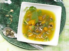 Kürbiseintopf - mit grünen Bohnen - smarter - Kalorien: 93 Kcal - Zeit: 15 Min.   eatsmarter.de Kürbis ...mmmhhh!