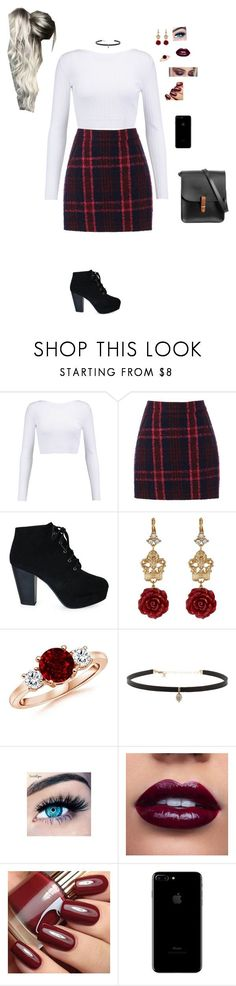 """""""Untitled #342"""" by kylietownsend on Polyvore featuring Cushnie Et Ochs, Oasis, Dolce&Gabbana, Carbon & Hyde, MINX and N'Damus"""